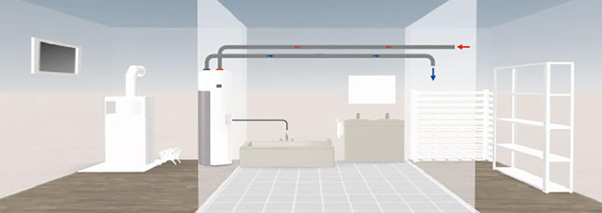 planungshinweise zum einbau ochsner w rmepumpen sterreich. Black Bedroom Furniture Sets. Home Design Ideas